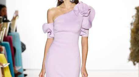 Lilac lady: Designer Mark Badgley says this top-selling