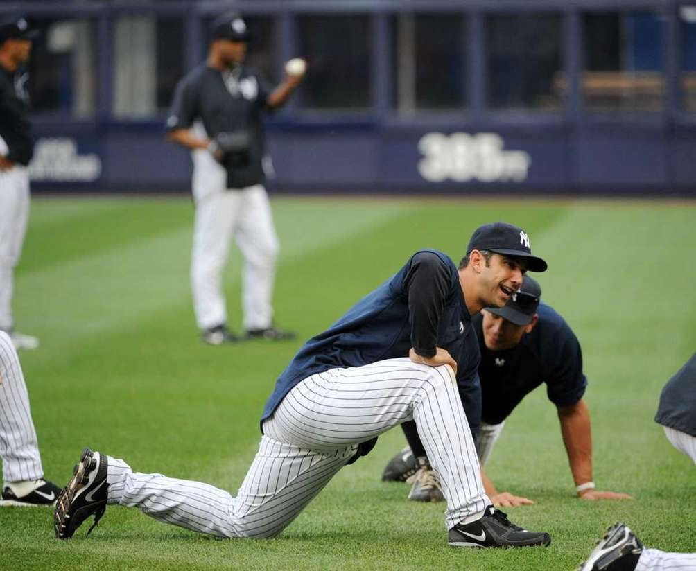 New York Yankees designated hitter Jorge Posada (20)