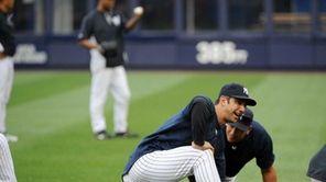 New York Yankees designated hitter Jorge Posada (20)