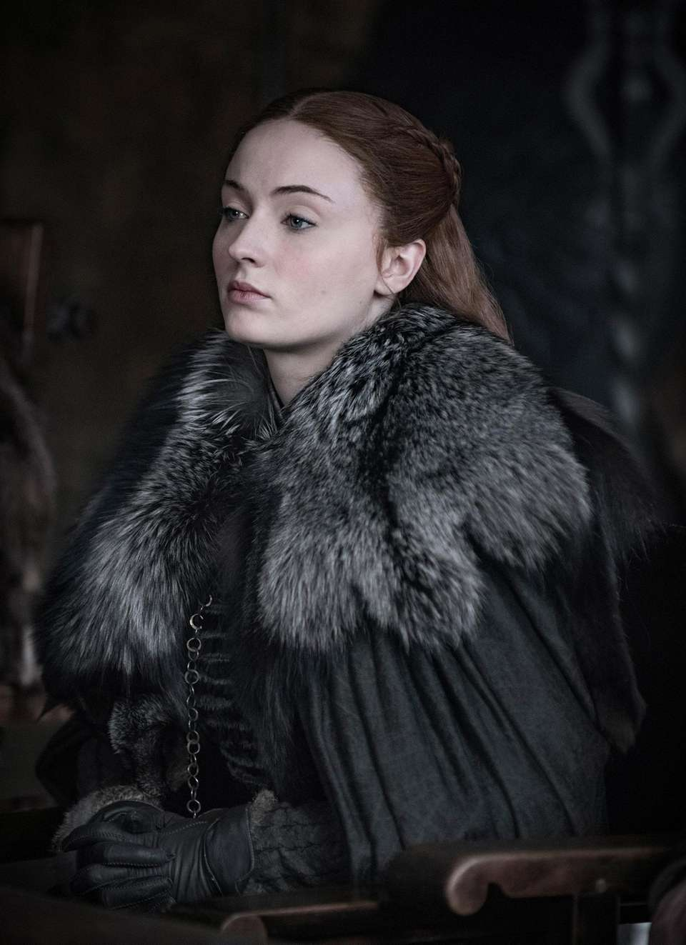 SANSA STARK (Sophie Turner) WHO Eldest daughter of