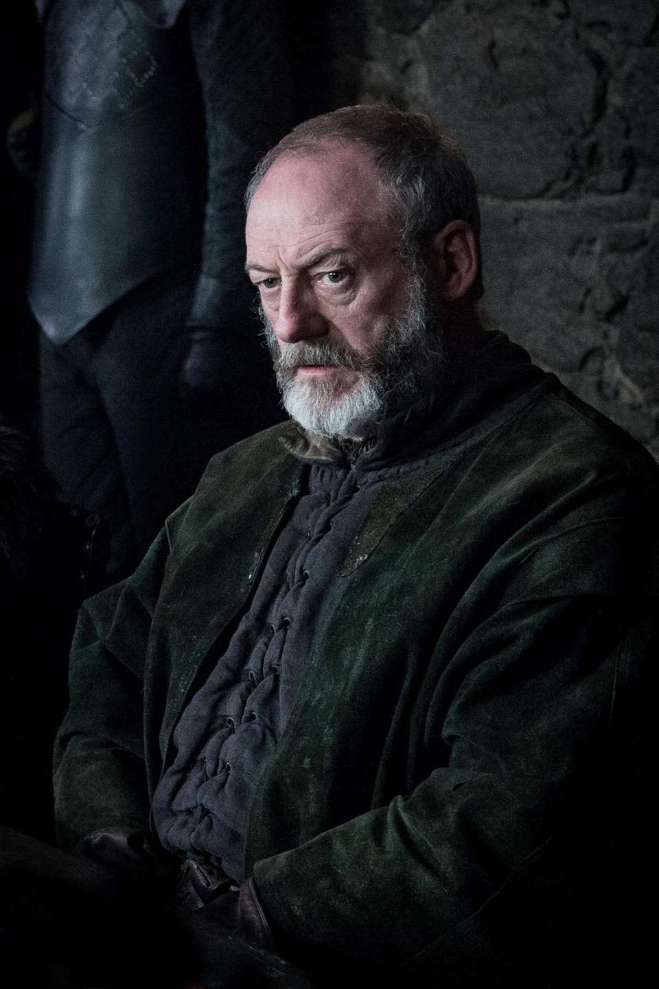 DAVOS SEAWORTH (Liam Cunningham) WHO A former smuggler