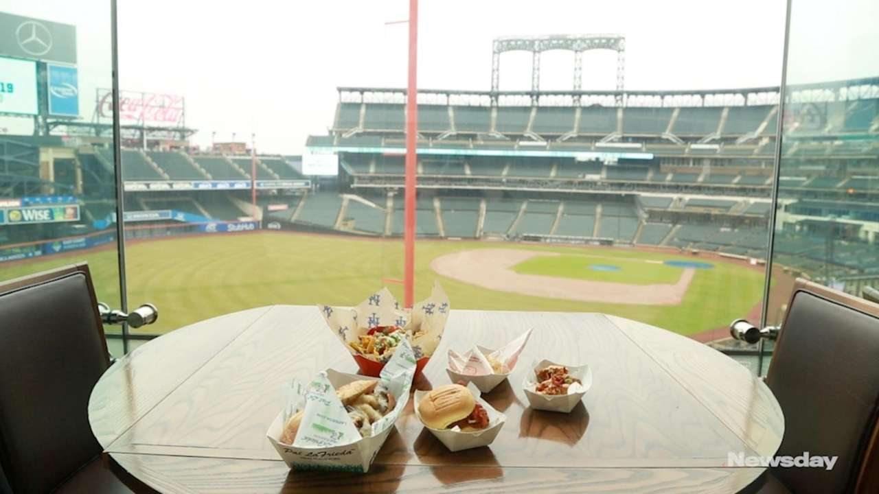 The Mets revealed the new food lineup at Citi