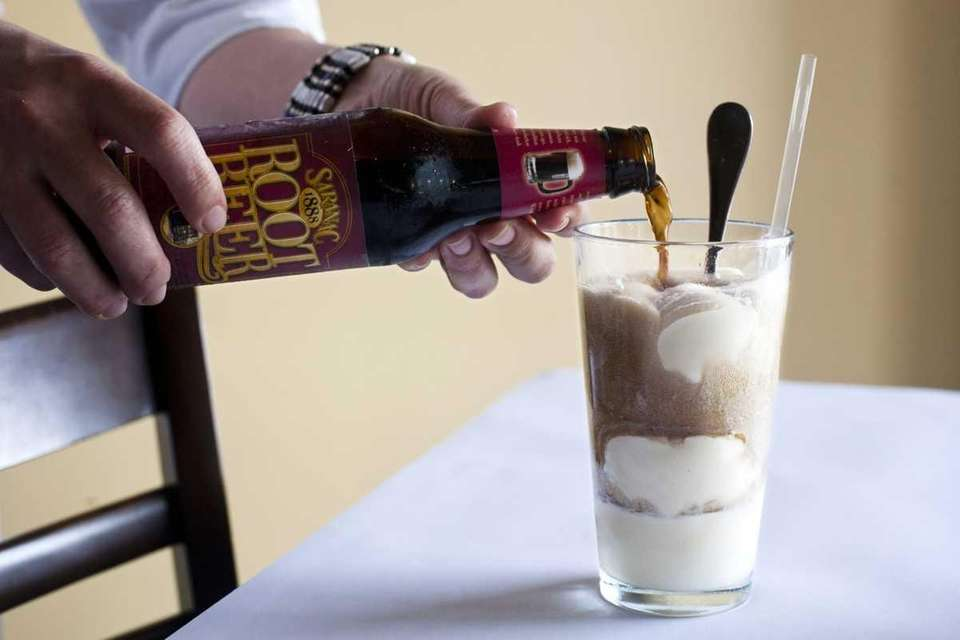 The root beer float is concocted at Jackson
