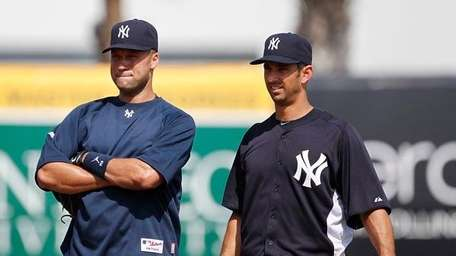 Derek Jeter and Jorge Posada