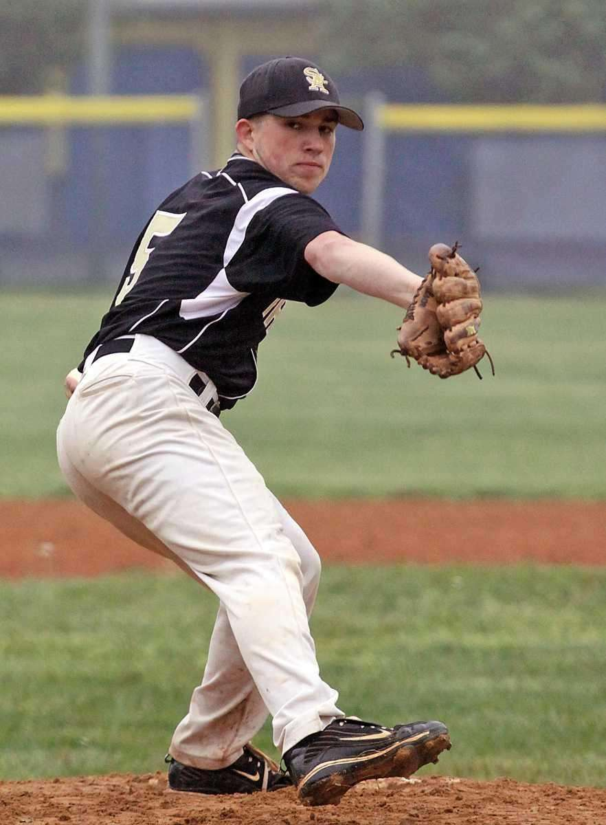 St. Anthony's William Massa delivers a pitch against
