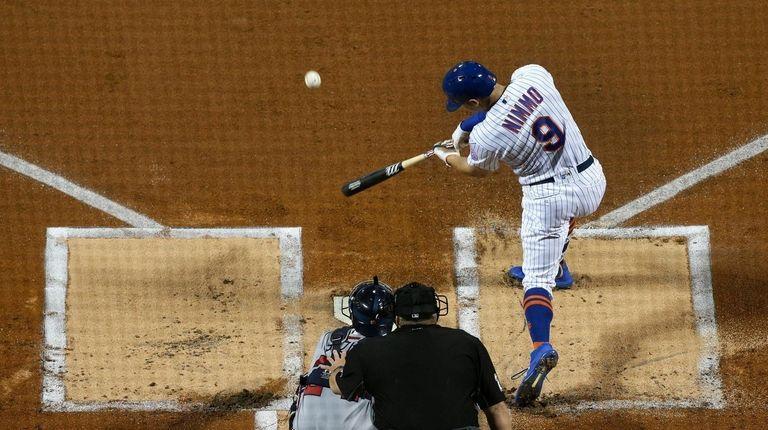Brandon Nimmo #9 of the New York Mets
