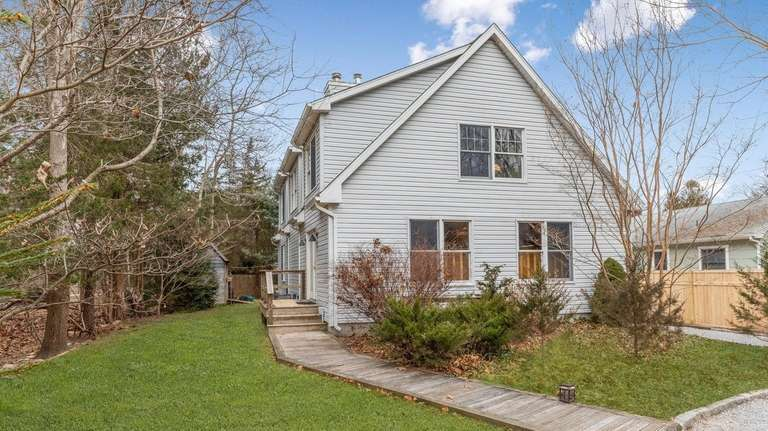 This Sag Harbor home, for $895,000, includes four