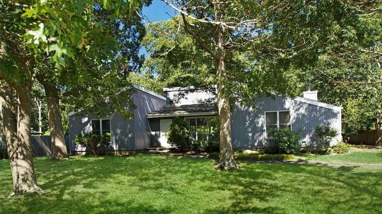 This East Quogue contemporary, for $649,000, has three