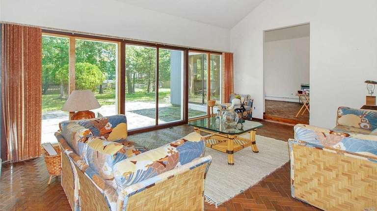 Inside the East Quogue home.