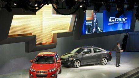 General Motors North America President Mark Reuss introduces