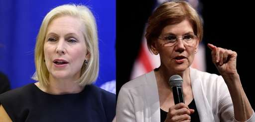 Sens. Kirsten Gillibrand and Elizabeth Warren are the