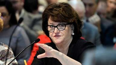 New York State Education Commissioner MaryEllen Elia, speaks