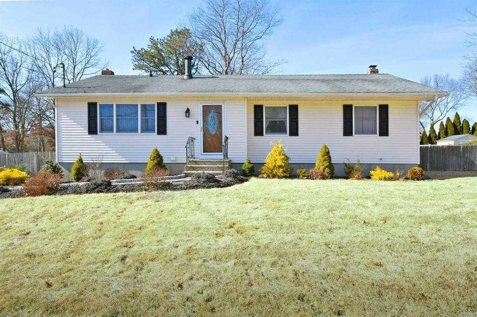 This Holtsville ranch includes three bedrooms and two