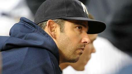 JORGE POSADA TAKES HIMSELF OUT OF THE LINEUP