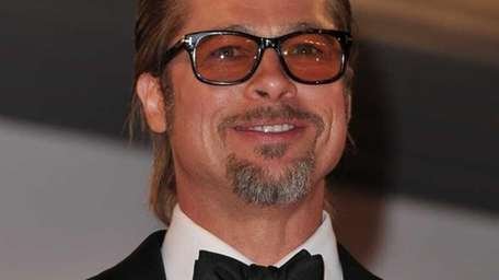 Actor Brad Pitt leaves