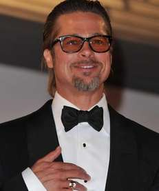 "Actor Brad Pitt leaves ""The Tree Of Life"""