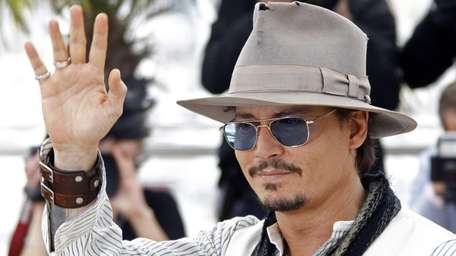 Actor Johnny Depp at a photo call for