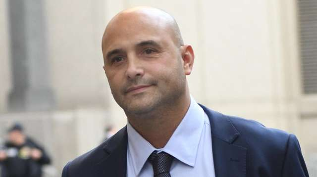 Craig Carton, here leaving court in November, is