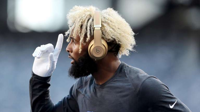 Former Giant Odell Beckham Jr. seems conflicted about