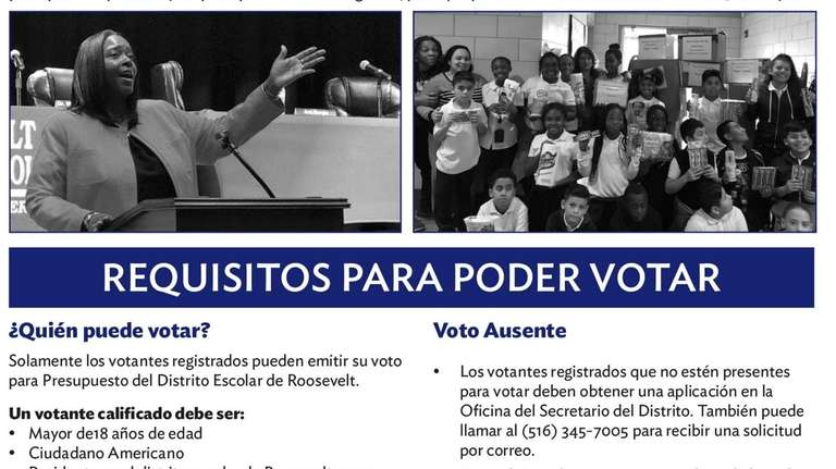 A newsletter distributed to residents by the Roosevelt