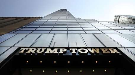 Trump Tower stands on Fifth Avenue in Manhattan