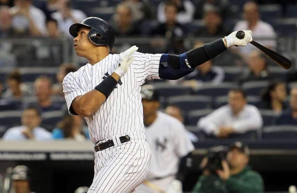 ALEX RODRIGUEZ: 696 (Through Sept. 12, 2016) -