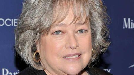 Actress Kathy Bates attends The Cinema Society &
