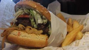 """""""Whiskey River"""" BBQ burger at Red Robin"""