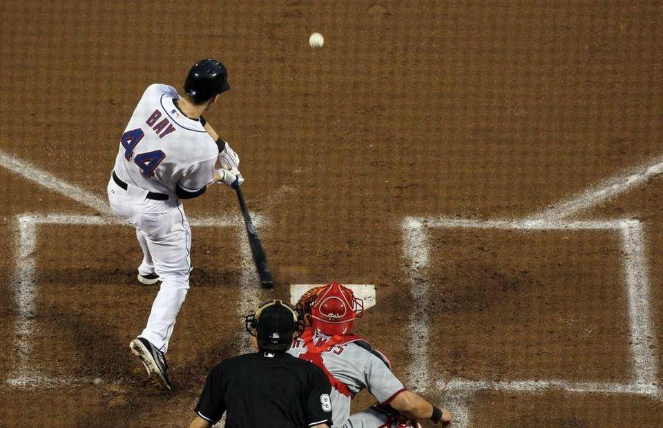 Jason Bay #44 of the New York Mets