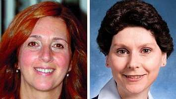 Maureen Dougherty, left, is a partner at the