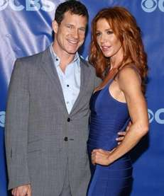 Actors Dylan Walsh and Poppy Montgomery attend the