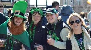 Attendees enjoy Rockville Centre's annual St. Patrick's Parade