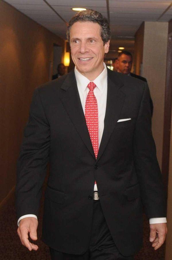 Gov. Andrew Cuomo at the New York State