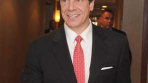 Gov. Andrew Cuomo at the New York State
