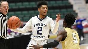 Andrew Richards (2) of Lawrence Woodmere Academy moves