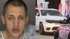Christopher Loeb and the Jeep Cherokee police say