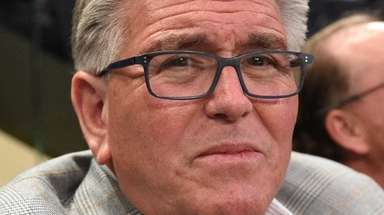 Mike Francesa, shown here at a St. John's
