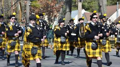 The Brentwood St. Patrick's Day Parade was held