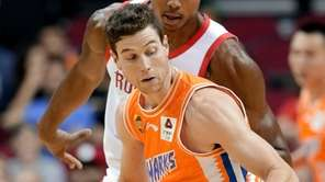 Shanghai Sharks guard Jimmer Fredette- who recently