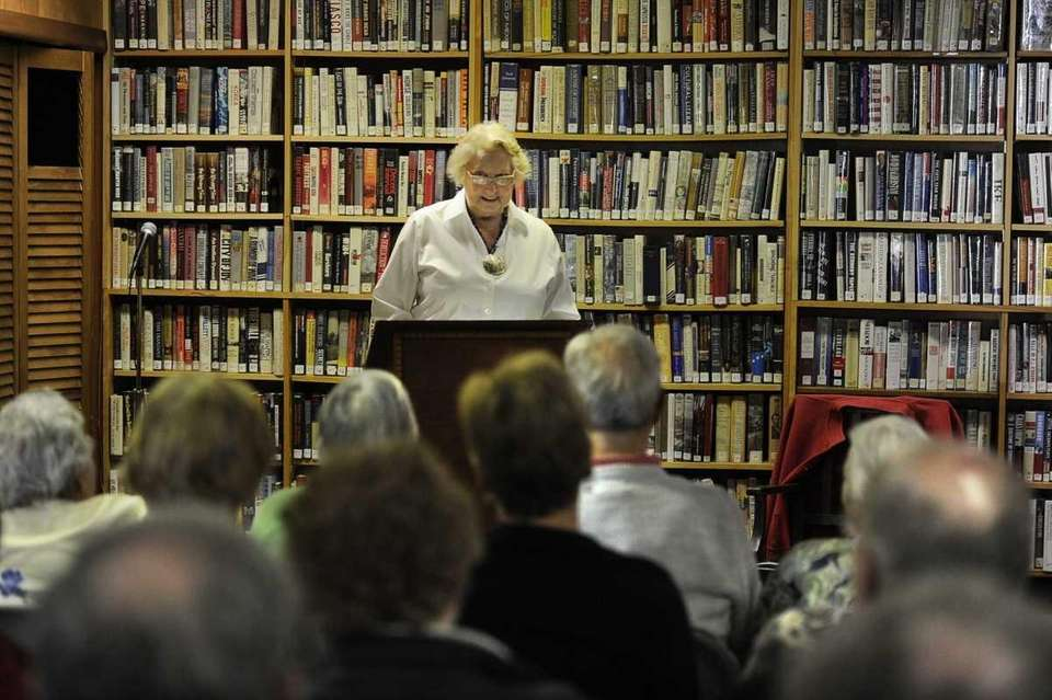 Shelter Island poet Hilary King reads from her
