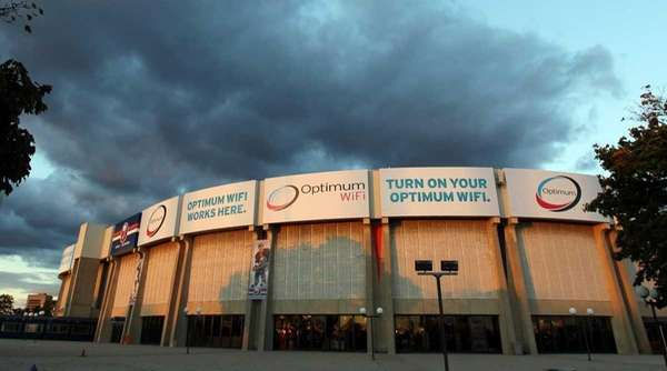 Nassau Coliseum is seen prior to the New