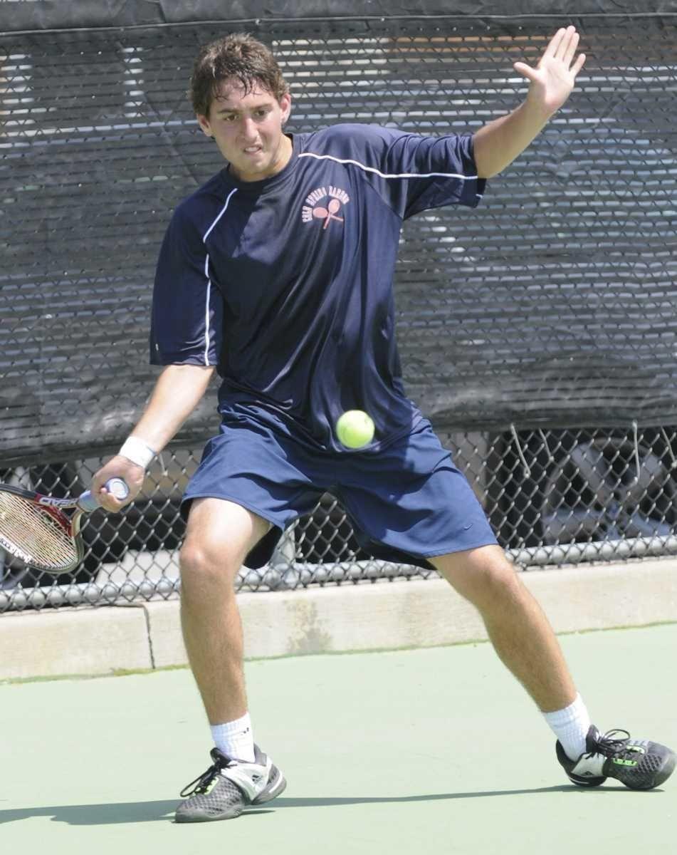 Cold Spring Harbor High School's Josh Levine during