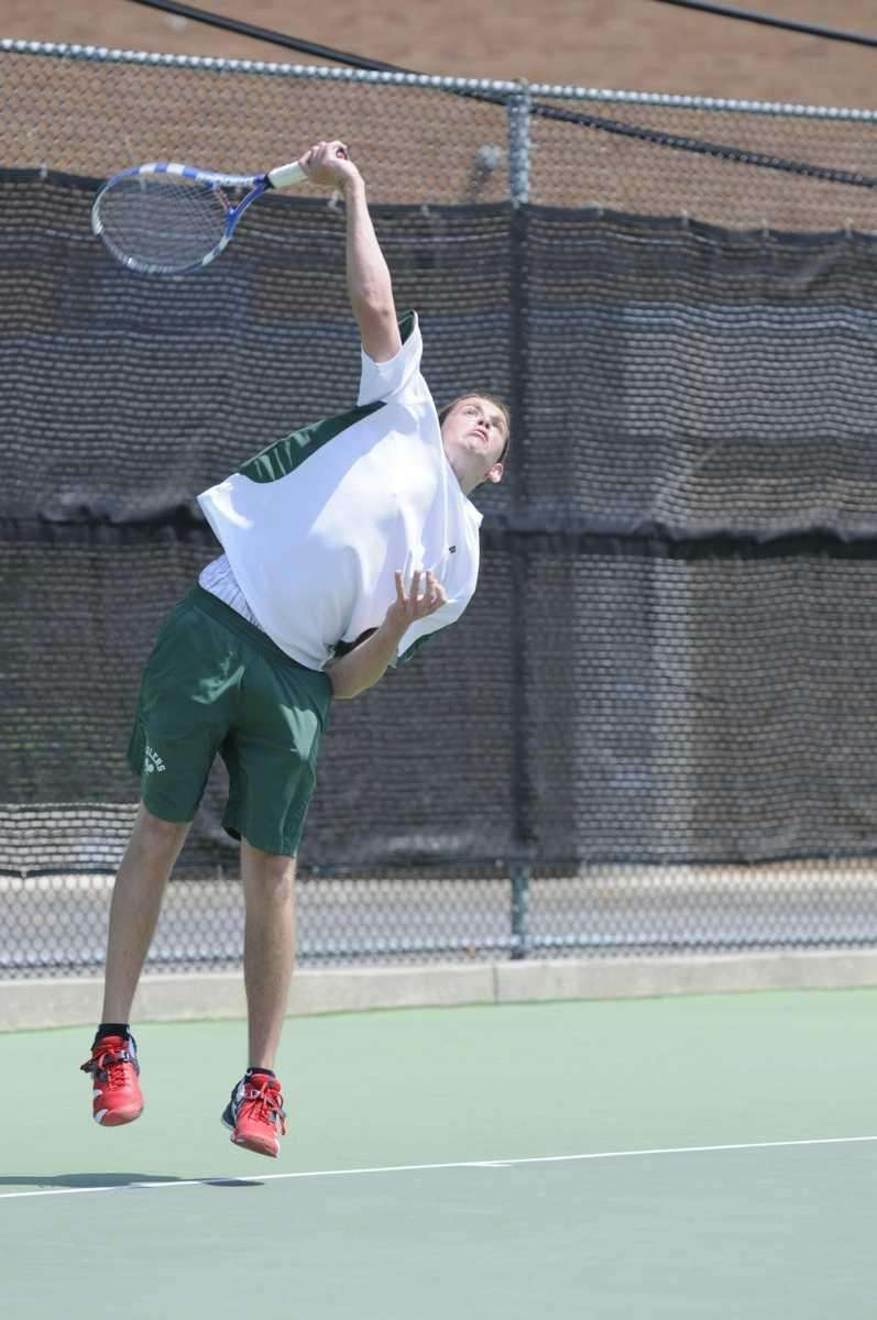 Farmingdale's Brendan Henry during his match against Cold