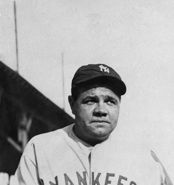 AP file photo of Babe Ruth.