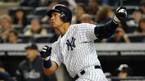 New York Yankees third baseman Alex Rodriguez (13)