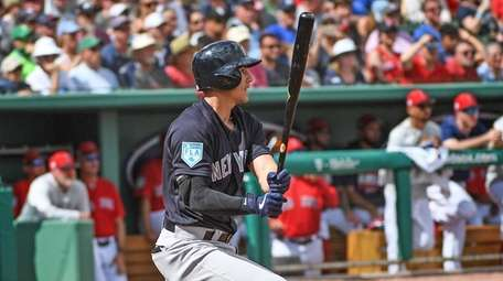 Yankees Tyler Wade knocks a double in the