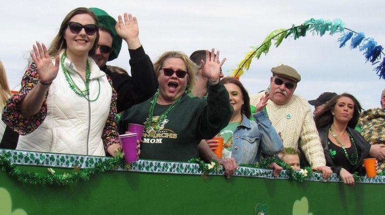 The Ronkonkoma St. Patrick's Day Parade was held
