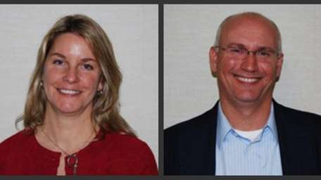 School Business Partnerships: Scott Schuler, acting president; Ginette