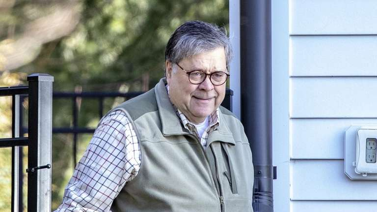 Attorney General William Barr on Sunday, the day