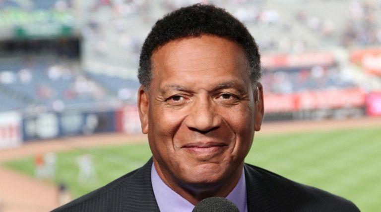 YES Network announcer Ken Singleton.
